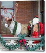 Santa Is Watching You Canvas Print