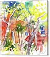 Santa Margherita In Italy 08 Canvas Print