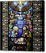 Santa Maria De Montserrat Abbey 1 Canvas Print