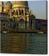 Santa Maria Della Salute In Venice In Morning Light Canvas Print
