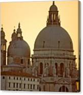 Santa Maria Della Salute In Venice Canvas Print