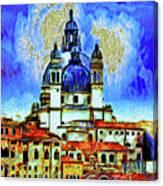 Santa Maria Venice Canvas Print