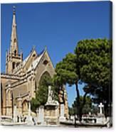 Santa Marija Addolorata Chapel  Canvas Print