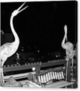 Santa Monica Birds Eye View Canvas Print
