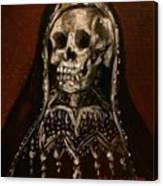 Santa Muerte Holy Death Canvas Print