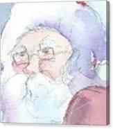 Santa  Canvas Print