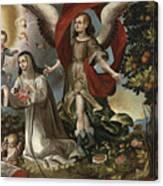 Santa Rosa De Lima Canvas Print