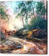 Santa Rosa Roundup Canvas Print