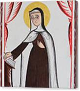 Santa Teresa De Avila - St. Teresa Of Avila - Aotda Canvas Print