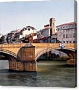 Santa Trinita Bridge Canvas Print