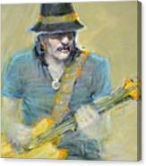Santana Canvas Print