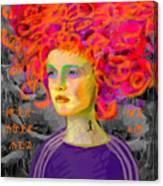 Santia In Adidas Bluse 981 Canvas Print