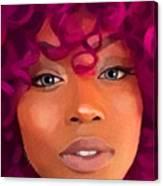 Santia New Color Canvas Print