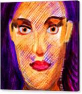 Santia Seen By Maca Canvas Print