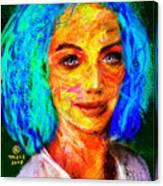 Santia True Colors 673 Canvas Print