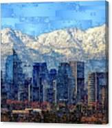 Santiago De Chile, Chile Canvas Print