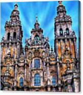 Santiago De Compostela Cathedral Canvas Print