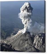 Santiaguito Ash Eruption, Guatemala Canvas Print