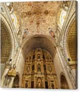 Santo Domingo Church Interior Canvas Print