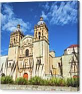Santo Domingo Church View Canvas Print