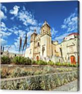 Santo Domingo Church Wide Angle Canvas Print