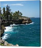 Santo Domingo Coastal View. Canvas Print