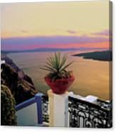 Santorini 012 Canvas Print