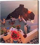 Santorini 016 Canvas Print