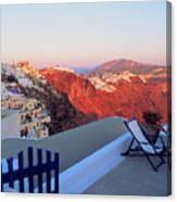 Santorini 019 Canvas Print