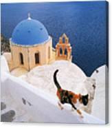 Santorini 04 Canvas Print