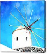 Santorini 2 Canvas Print