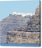 Santorini Fira Canvas Print