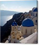 Santorini Greece Canvas Print