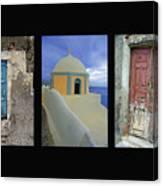 Santorini Memories Canvas Print