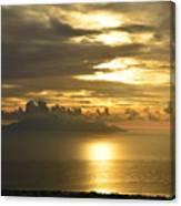 Santorini. Sunlight Canvas Print