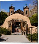 Santuario De Chimayo Adobe Chapel Canvas Print