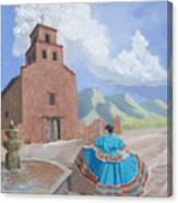 Santurario De Guadalupe Canvas Print