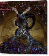 Saphira The Dragonlord Canvas Print