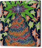 Sapin Noel 2 Canvas Print
