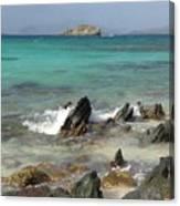 Sapphire Beach Canvas Print