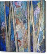 Sapphire Forest I Canvas Print