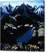 Sapphire Lake   Canvas Print