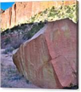 Sapphire Rock Canvas Print