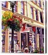 Sara In Old Town Canvas Print