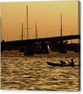 Sarasota Bay Sunset #1 Canvas Print