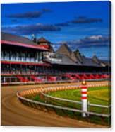 Saratoga Race Track Canvas Print
