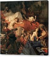 Sardan Call Of Canvas Print
