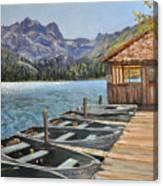 Sardine Lake Canvas Print