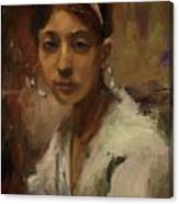 Sargent Study Number 1 Capri Girl Canvas Print