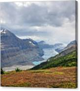 Saskatchewan Glacier In Canada Canvas Print
